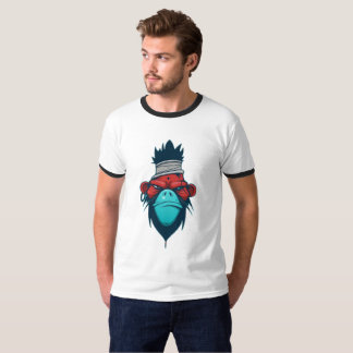 Cool T-Shirt With Picture of Angry Monkey head