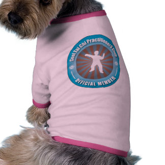 Cool Tai Chi Practitioners Club Pet T Shirt