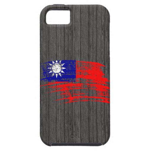 Cool Taiwanese flag design iPhone 5 Cases