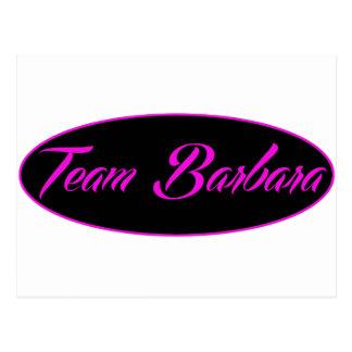cool Team Barbara designs Postcard