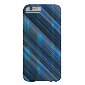 """Cool """"Technology meets Plaid"""" Stripes Barely There iPhone 6 Case"""