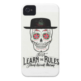COOL TEENAGE SKULL COLLECTION- LEARN THE RULES iPhone 4 CASES
