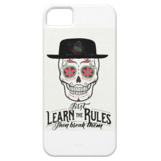 COOL TEENAGE SKULL COLLECTION- LEARN THE RULES iPhone 5 CASE