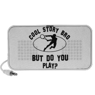 cool tennis designs iPod speakers