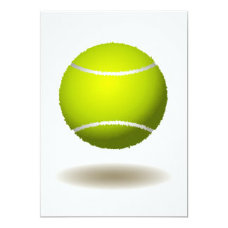 Cool Tennis Emblem 2 13 Cm X 18 Cm Invitation Card