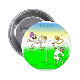 Cool tennis gifts for kids 6 cm round badge