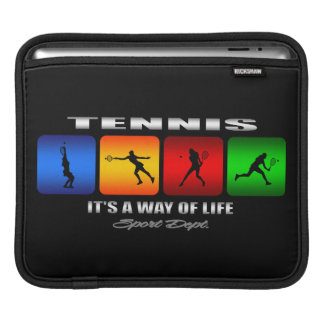 Cool Tennis It Is A Way Of Life (Female) iPad Sleeve