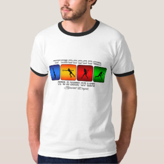 Cool Tennis It Is A Way Of Life (Female) T-Shirt