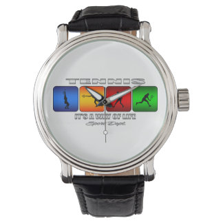 Cool Tennis It Is A Way Of Life (Female) Wrist Watch