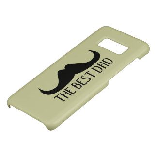 Cool The best Dad Black Moustache Father's Day Case-Mate Samsung Galaxy S8 Case
