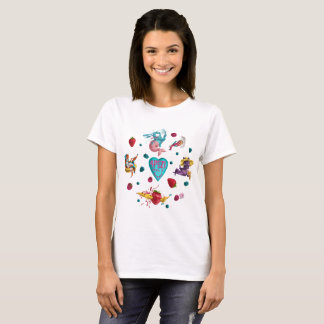 COOL THE MUTT Pattern T-Shirt
