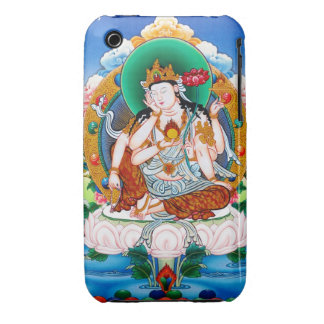 Cool tibetan thangka Cintamanicakra Avalokitesvara Case-Mate iPhone 3 Case