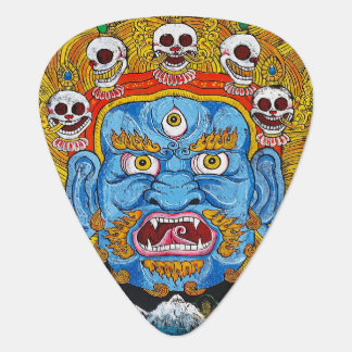Cool tibetan thangka god mandala tattoo art plectrum