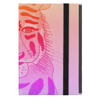 Cool Tiger Face iPad kickstand case