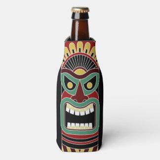 Cool Tiki Totem custom name bottle cooler