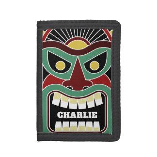 Cool Tiki Totem custom name wallets