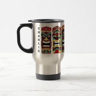 Cool Tiki Totems custom name mugs