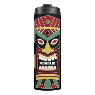 Cool Tiki Totems custom name tumbler