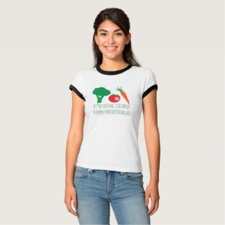 Cool to Eat Your Vegetables Women's T-Shirt