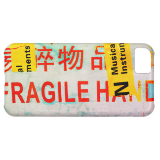 COOL Torn FRAGILE Marking w Chinese Characters iPhone 5C Case