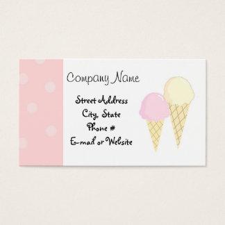 Cool Treats Business Card