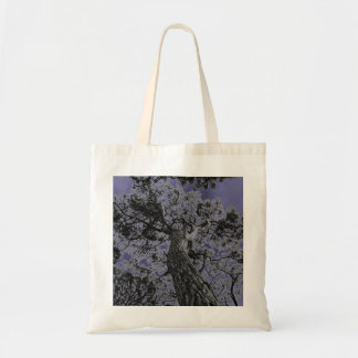 Cool tree art print bag