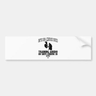 cool  Trending Aikido DESIGNS Bumper Sticker