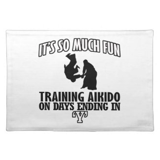 cool  Trending Aikido DESIGNS Placemat