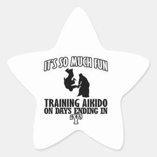 cool  Trending Aikido DESIGNS Star Sticker
