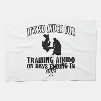 cool  Trending Aikido DESIGNS Tea Towel