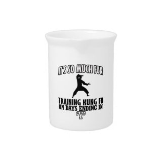 cool Trending Kung fu DESIGNS Pitcher