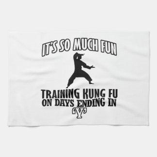 cool Trending Kung fu DESIGNS Tea Towel