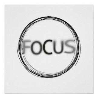 Cool Trendy Focus  Logo Modern Typography