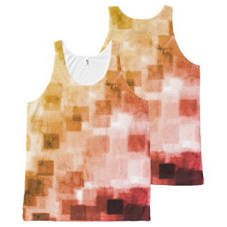 Cool Trendy Fun All-Over Print Singlet