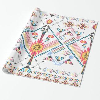 Cool trendy tribal ethnic geometric pattern