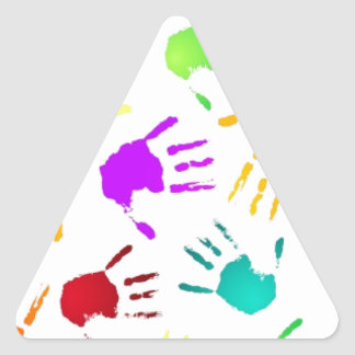 cool triangle sticker