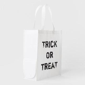 Cool Trick Treat Halloween Custom Black White