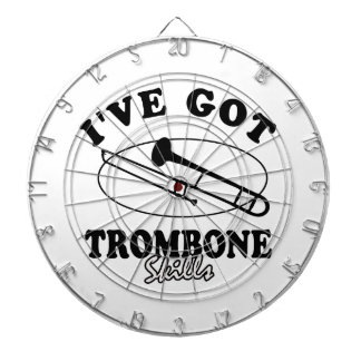 Cool trombone musical instrument designs dartboards