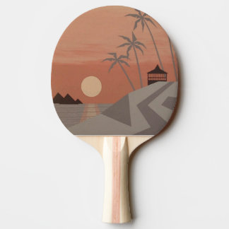 COOL TROPICS Ping-Pong Paddle