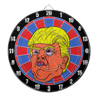 Cool TRUMP Inspired DART BOARD Image