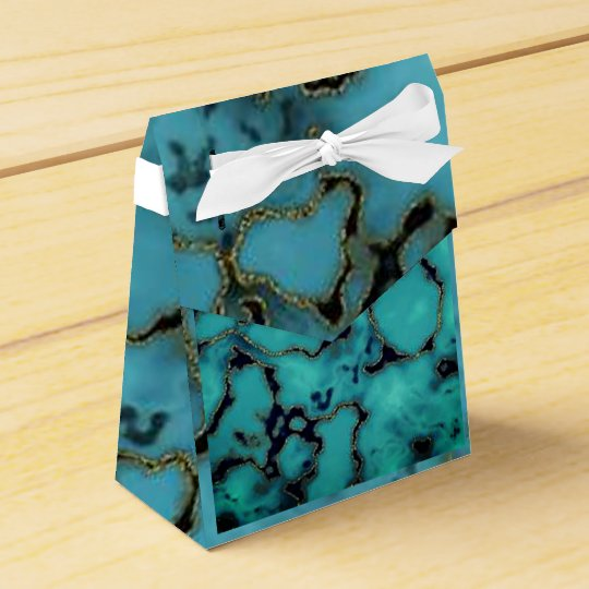 Cool Turquoise marble ston textured background box