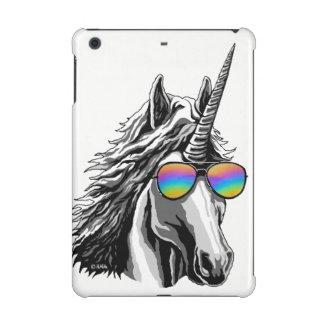 Cool unicorn with rainbow sunglasses
