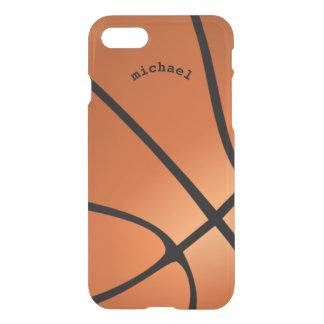 Cool Unique Artsy Orange Basketball Personalized iPhone 7 Case