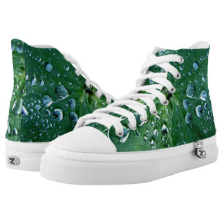 Cool,unique,green nature women  Printed Shoes