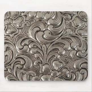 Cool unique metal pattern abstract mouse pad