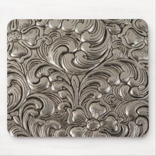 Cool unique metal pattern abstract mousepads