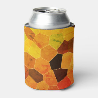 Cool Unique Rustic Pattern Can Cooler