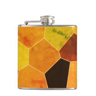 Cool Unique Rustic Pattern Hip Flask