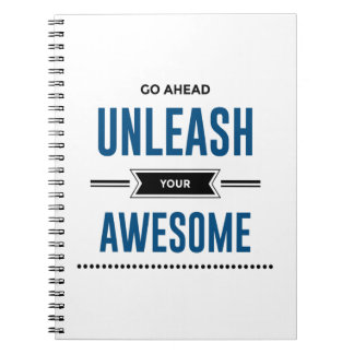 Cool Unleash Your Awesome Notebook