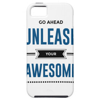 Cool Unleash Your Awesome Tough iPhone 5 Case